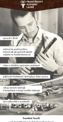 opravy hudebních nástrojů